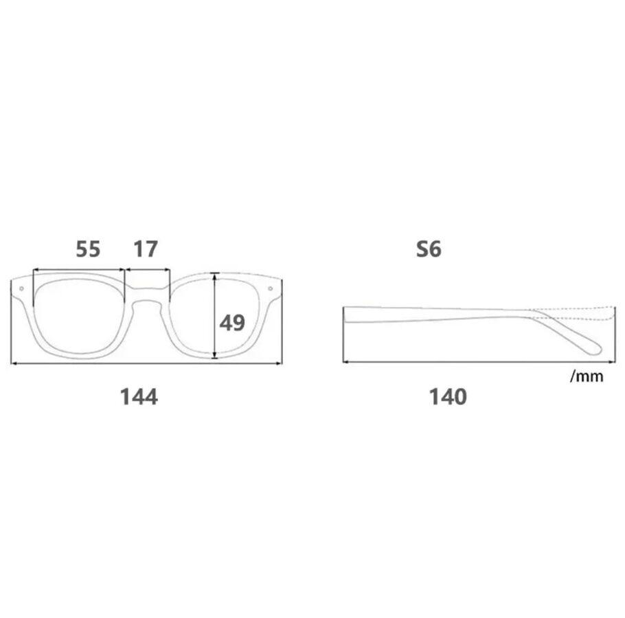 Dideli akiniai DJ9107