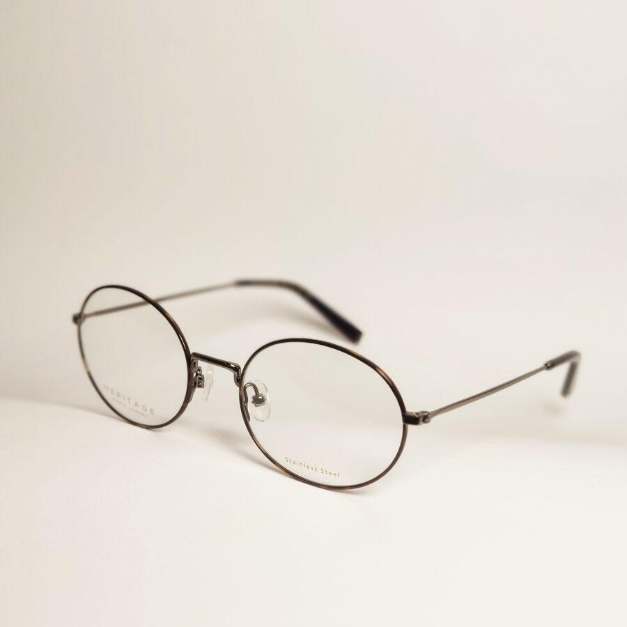 Ploni ovalūs akiniai