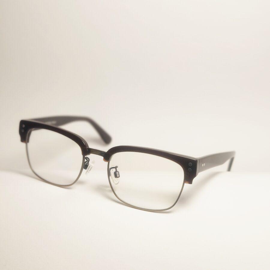 """Masyvūs """"browline"""" tipo akiniai"""