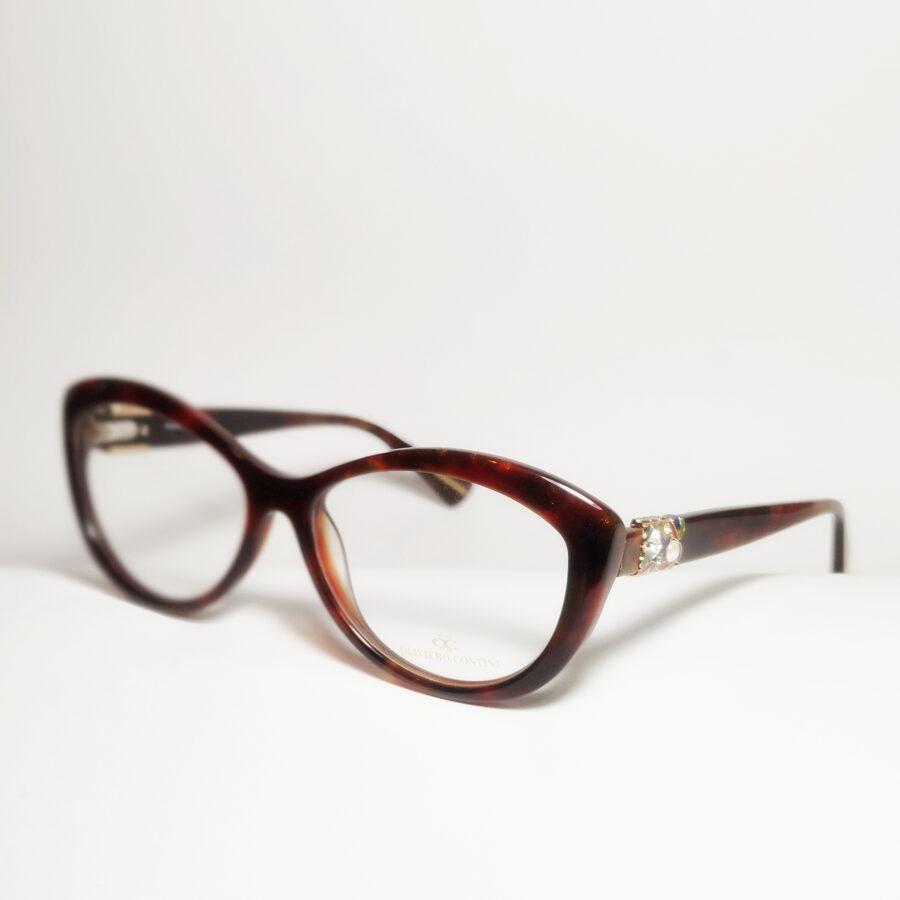 "Nedideli masyvūs katės akiniai ""Deco"""