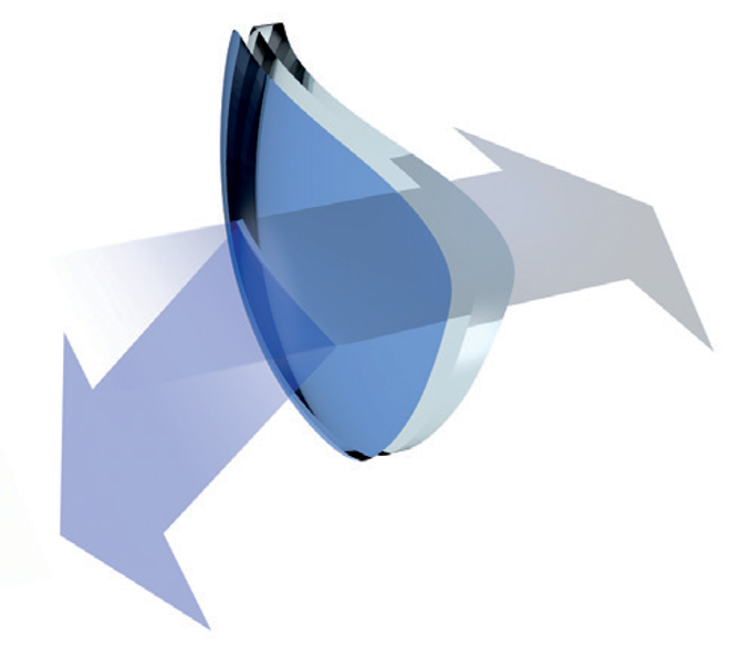 Aura Blue - papildoma danga darbui kompiuteriu