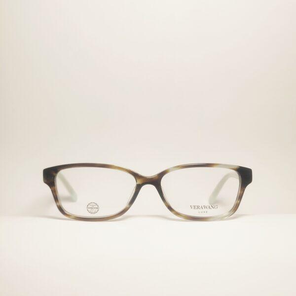 Stačiakampio formos kristalais dekoruoti akiniai